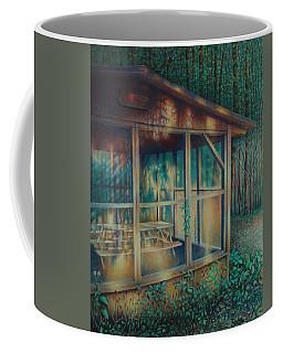 Labor Day Lights Coffee Mug