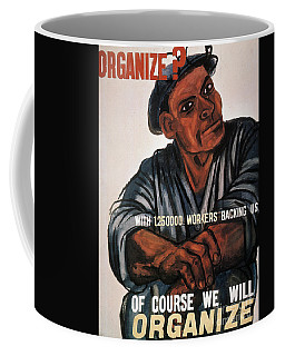 Labor Poster, 1930s Coffee Mug