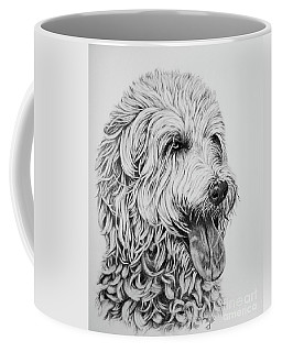 Labradoodle Coffee Mug by Terri Mills