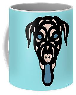 Labrador Dorianna - Dog Design - Island Paradise, Pale Dogwood,  Niagara Blue Coffee Mug