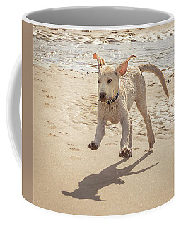 Labrador Jumping Coffee Mug