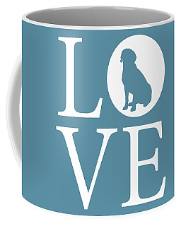 Coffee Mug featuring the digital art Labrador Love by Nancy Ingersoll
