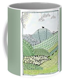 Labrador Mountain Doggie Doodle Coffee Mug