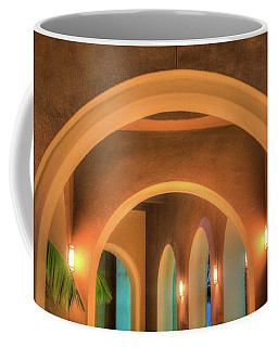 Coffee Mug featuring the photograph Labyrinthian Arches by T Brian Jones