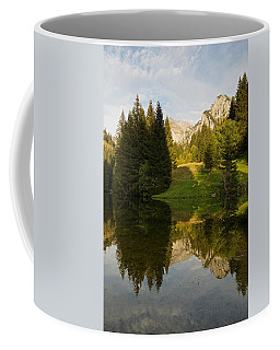 Lac De Fontaine Reflections Coffee Mug