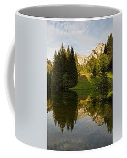 Lac De Fontaine Reflections Coffee Mug