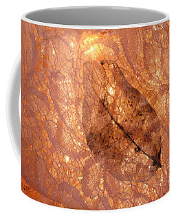 Lace By Nature And Cloth Coffee Mug by Marie Neder