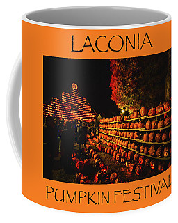 Laconia Pumpkin Festival Graphic Design 3 Coffee Mug