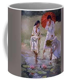 Ladies And Lilies Coffee Mug