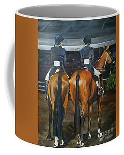 Ladies At Sussex Hunt Night Coffee Mug