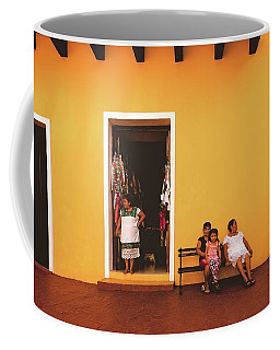 Ladies In Valladolid Coffee Mug