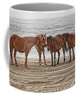 Ladies On The Beach Coffee Mug