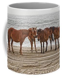Ladies On The Beach Coffee Mug