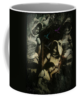 Coffee Mug featuring the digital art Ladies Who Lunch by Delight Worthyn