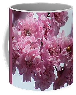 Coffee Mug featuring the photograph Lady Bug by Victor K