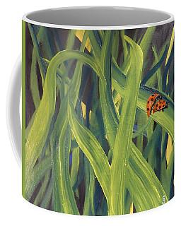 Lady Bugs Coffee Mug