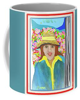 Lady By The Lake Coffee Mug