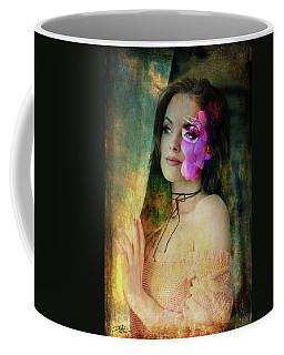 Lady By The Window Coffee Mug