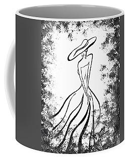Lady Charm Coffee Mug by Irina Sztukowski