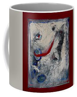 Lady Deciding Coffee Mug