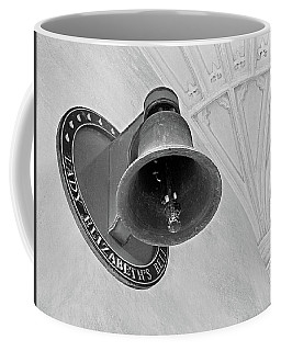 Coffee Mug featuring the photograph Lady Elizabeth's Bell Clare College Cambridge by Gill Billington