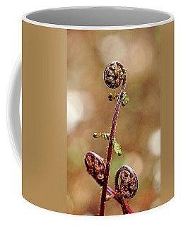 Lady Fern Spirals Coffee Mug