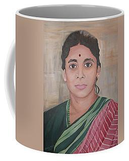 Lady From India Coffee Mug