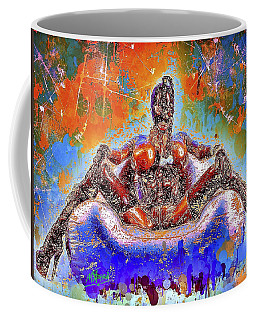 Coffee Mug featuring the mixed media Lady In Latex by Al Matra