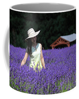 Lady In Lavender Coffee Mug