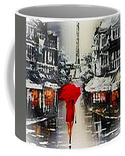 Lady In Paris Coffee Mug