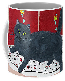 Lady Kitty Coffee Mug