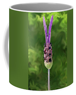 Lady Lavender Coffee Mug