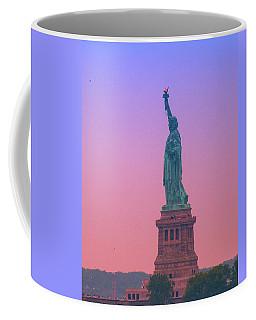 Lady Liberty, Standing Tall Coffee Mug
