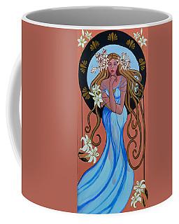 Lady Of The Lilly's  Coffee Mug
