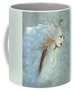 Lady Of The White Feathers Coffee Mug