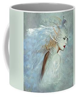 Lady Of The White Feathers Coffee Mug