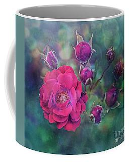 Lady Rose Coffee Mug by Agnieszka Mlicka