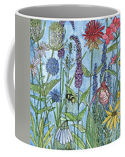Lady Slipper In My Garden  Coffee Mug by Laurie Rohner
