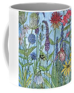 Lady Slipper In My Garden  Coffee Mug