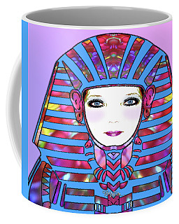 Coffee Mug featuring the photograph Lady Tut #191 by Barbara Tristan