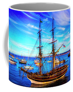 Lady Washington In Monterey Bay Coffee Mug