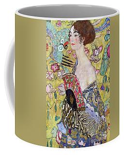 Lady With A Fan Coffee Mug