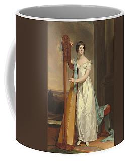Lady With A Harp Coffee Mug