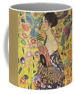 Lady With Fan Coffee Mug