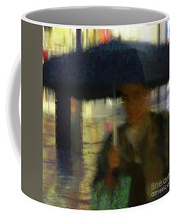 Lady With Umbrella Coffee Mug