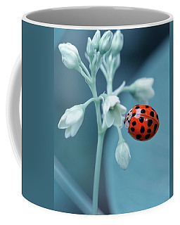 Coffee Mug featuring the photograph Ladybug by Mark Fuller