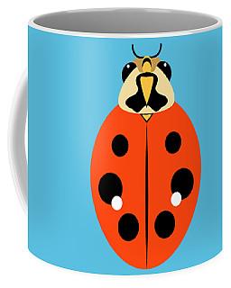 Ladybug Trio Horizontal Coffee Mug