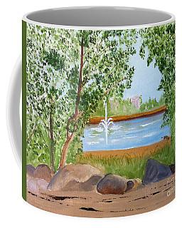 Lafarge Lake View Coquitlam B C Coffee Mug