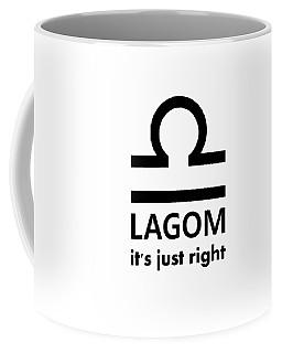 Lagom - Just Right Coffee Mug
