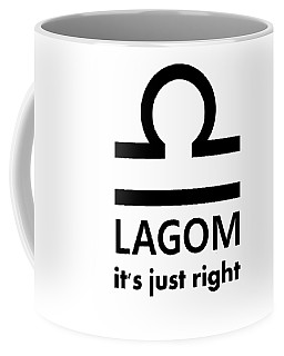 Lagom - Just Right Coffee Mug